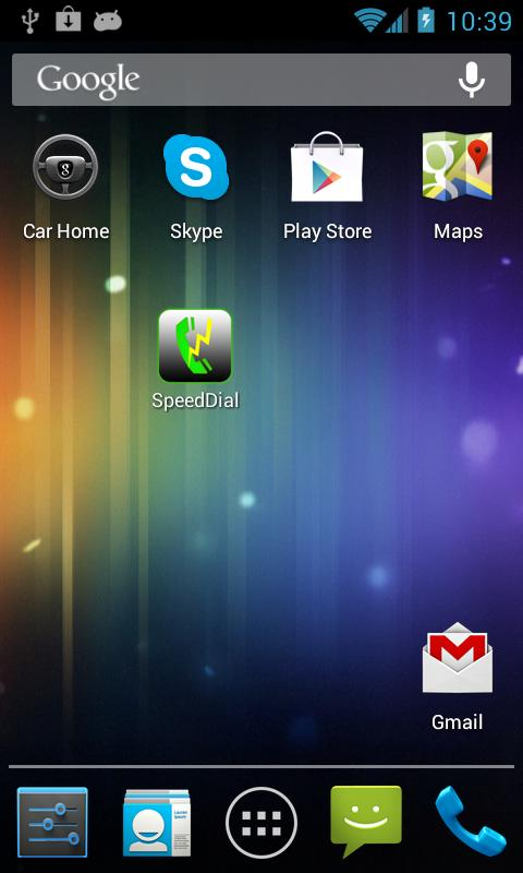 SpeedDial- screenshot