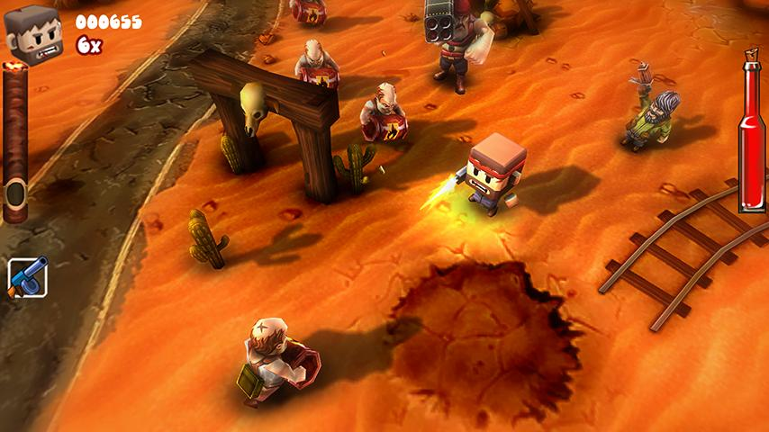Guerrilla Bob for Xperia PLAY - screenshot