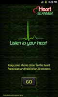 Screenshot of Heart Mood Scanner Prank