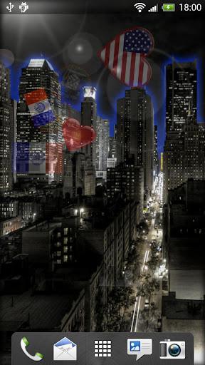 纽约動態桌布