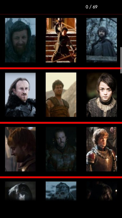 Game Of Thrones Trivia - screenshot
