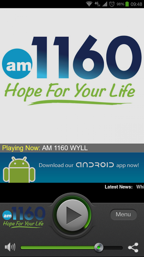 AM 1160 - screenshot