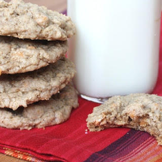 Soft and Chewy Oatmeal Butterscotch Cookies.