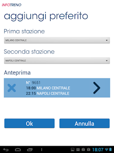 Info Treno - screenshot thumbnail