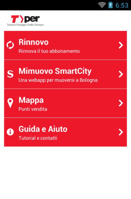 TPER - Ricarica l'abbonamento - screenshot