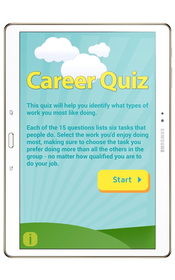 Career quiz android apps on google play for What will my future family be like quiz