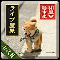 和風総本家/七代目豆助(冒険)ライブ壁紙 logo