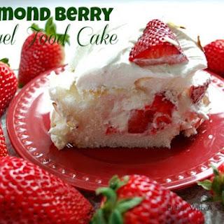 ALMOND BERRY ANGEL FOOD CAKE.