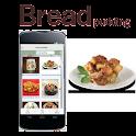 Bread pudding icon