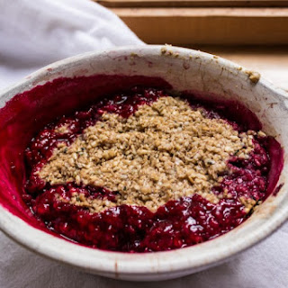 Berry Crumble for One