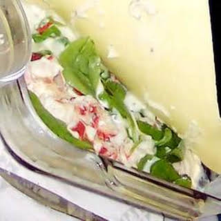 Four Cheese Lobster Lasagne.