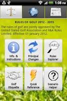 Screenshot of Golf Rules Lite