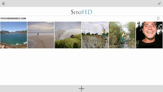 SitoHD - Your Photo website- screenshot thumbnail