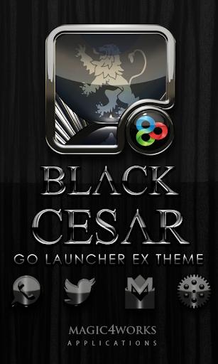 GO Launcher Theme Cesar