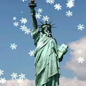 New York Xmas Live Wallpaper icon