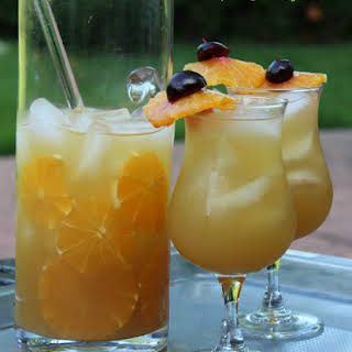 Tropical Rum Punch.