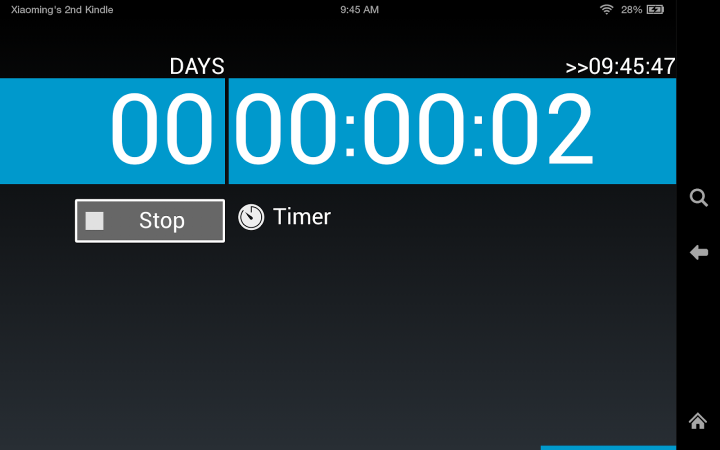 Timers4Me Timer&Stopwatch Pro - screenshot