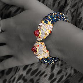 Jewlery for a Cure by Robert Gallucci - Artistic Objects Jewelry ( bracelet, b&w, diamonds, jewelry, gold, object, artistic )
