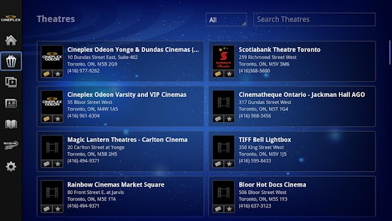 Cineplex - Google TV - screenshot thumbnail