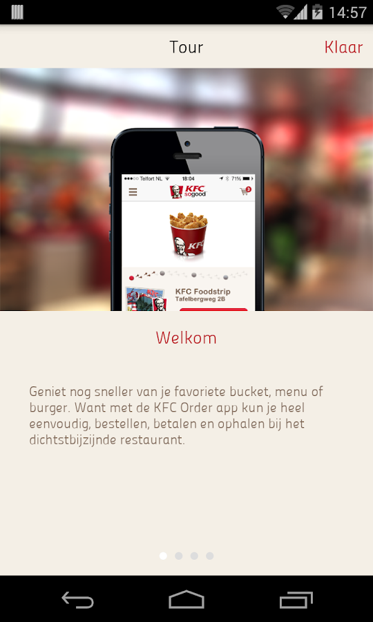 KFC Order- screenshot