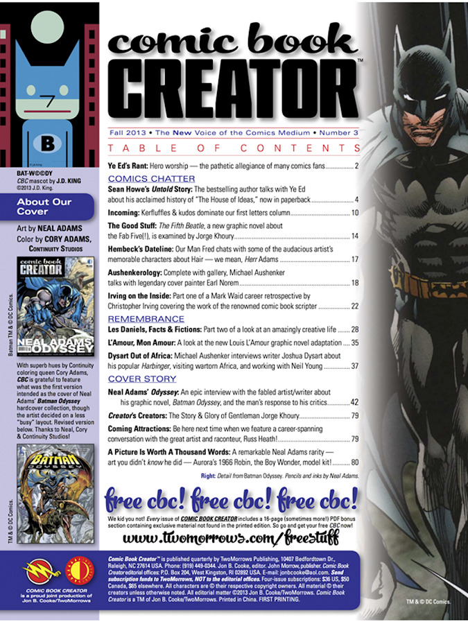 Comic Book Creator: captura de pantalla