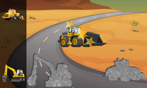 Digger Puzzles for Toddlers  screenshots 2