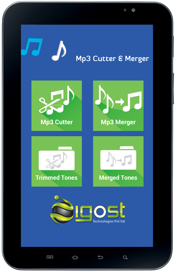 Mp3 Cutter & Merger- screenshot