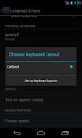 Screenshot of RS - Hardware Keyboard Layouts
