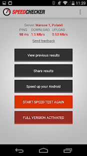 Internet Speed Test 4G, 3G, LTE, Wifi, GPRS Screenshot