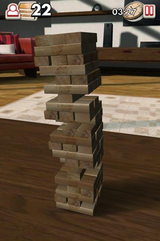 Jenga- screenshot