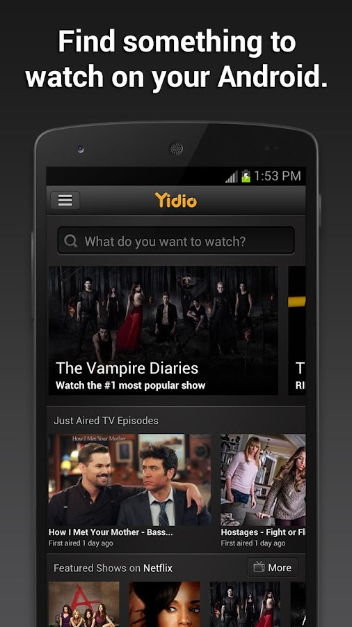 Yidio - screenshot