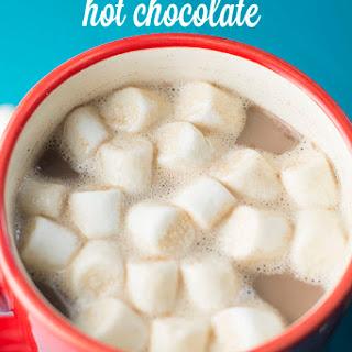 The BEST Crock Pot Hot Chocolate.