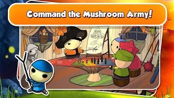 Screenshot of Mushroom Wars