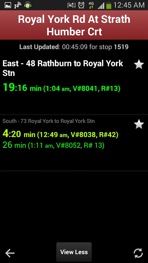 Transit Now Toronto for TTC + - screenshot