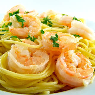Super Simple Shrimp Scampi.