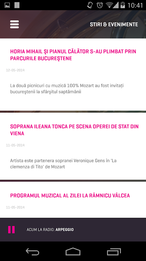 Radio Romania Muzical- screenshot