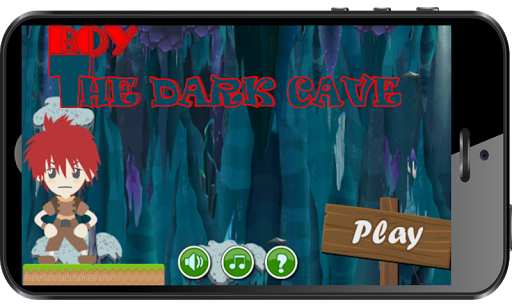 Boy The Dark Cave