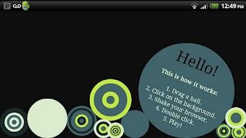 Screenshot of Cash OSX Beta