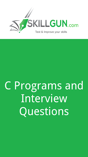 C Programs and C Questions