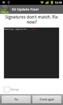 Superuser Update Fixer