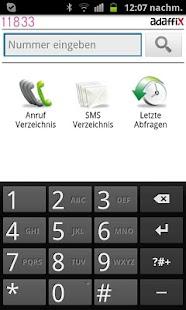 11833 Anruferkennung- screenshot thumbnail