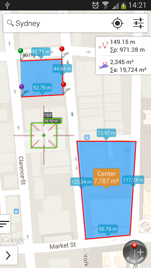 Measure Map- screenshot