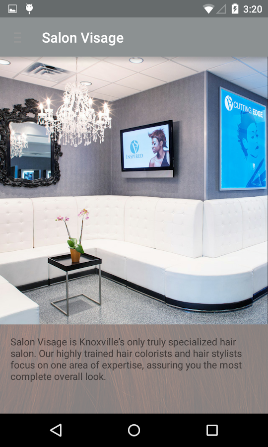 Salon Visage - Concierge- screenshot