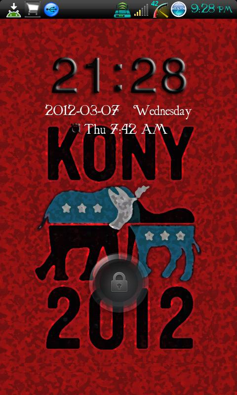 Go Locker Kony 2012 - screenshot