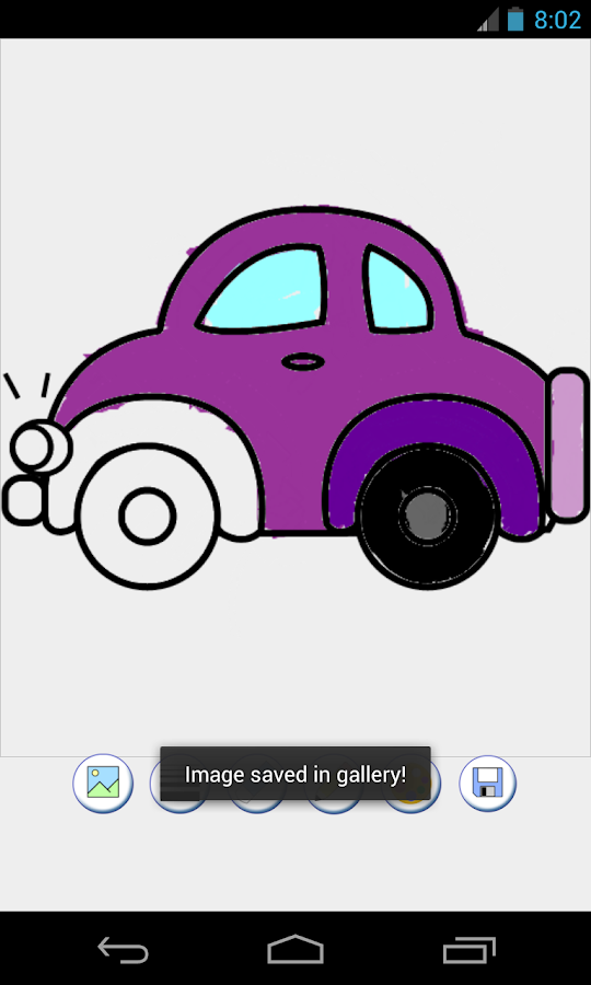 cars coloring game - Android Apps on Google Play