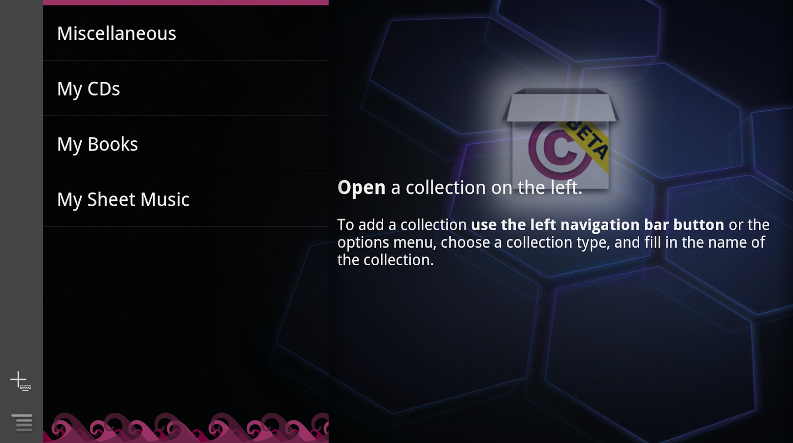 Collectionista manager - screenshot