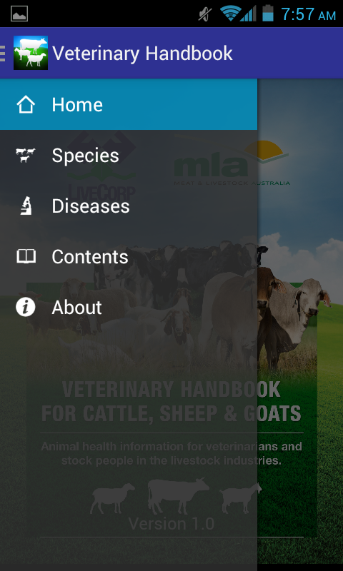 Veterinary Handbook- screenshot