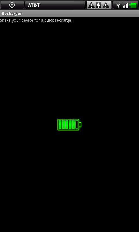Battery Recharger - screenshot