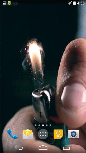 Cigarette Lighter Wallpaper Android App Screenshot