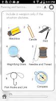 Screenshot of Visual Survival Guide
